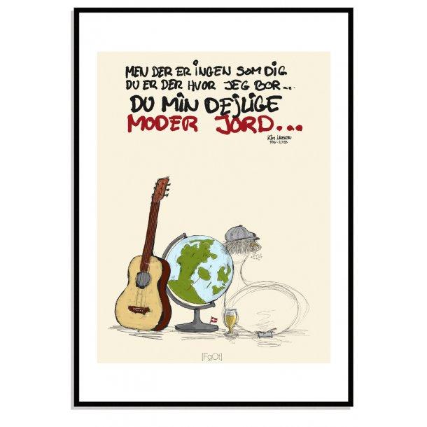 Danmarks plakaten... du min dejlige moder jord...