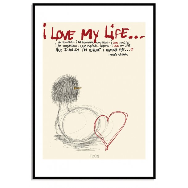 Love my life... / Single