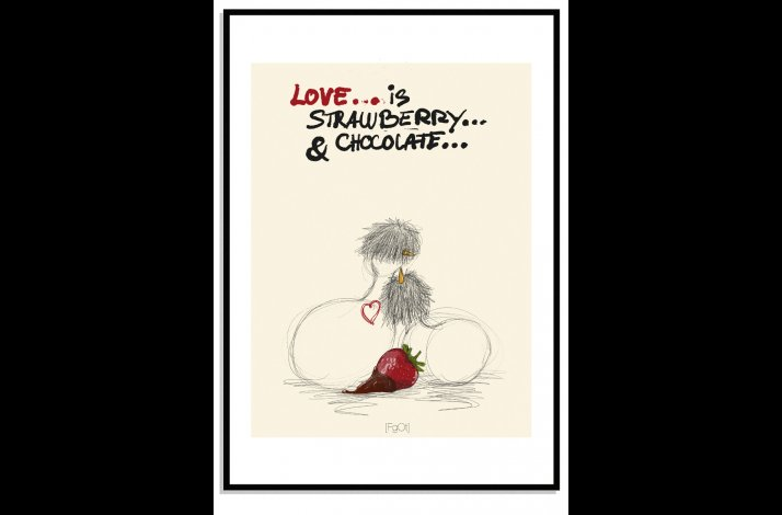 Love is strawberry & Chocolate...