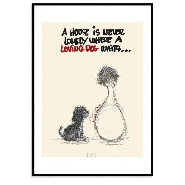 Loving Dog...