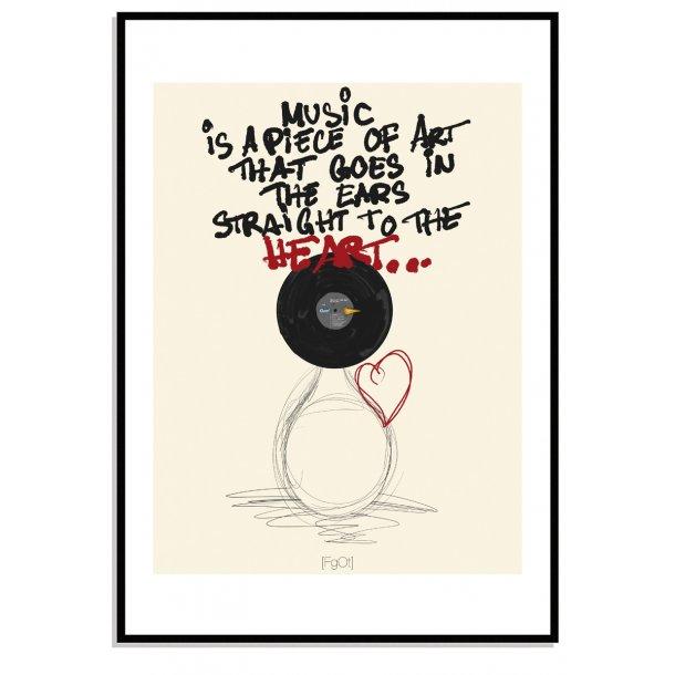 Music is a piece of art...