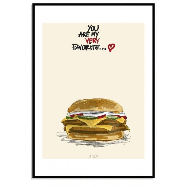 My favorite...  Burger