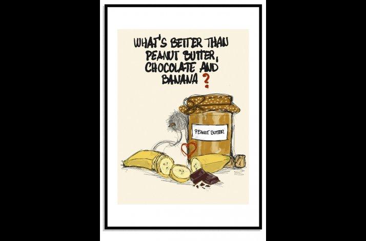 Peanut chocolate banana & DOK