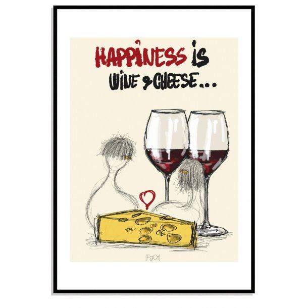 Wine & cheese...